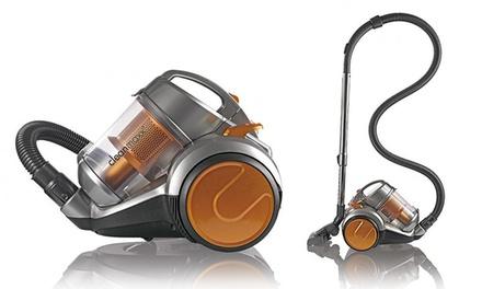 cleanmaxx zyklonstaubsauger 900 watt in silber orange. Black Bedroom Furniture Sets. Home Design Ideas