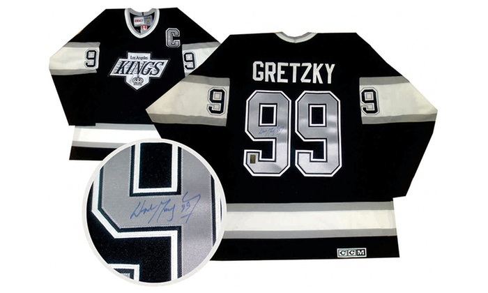 premium selection 622ee 86484 Wayne Gretzky Autographed LA Kings Jerseys