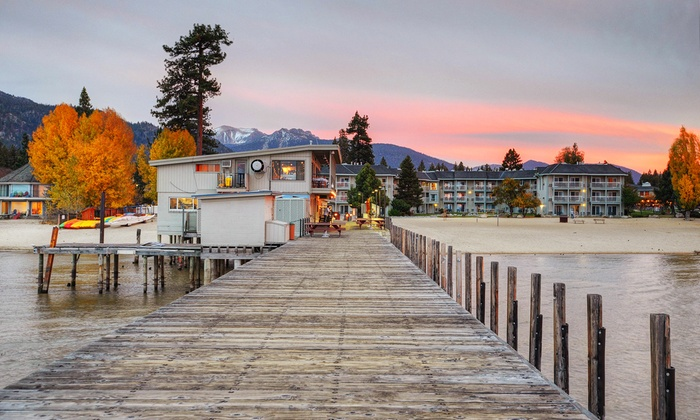 Lakeside Tahoe Resort with Dining Credit