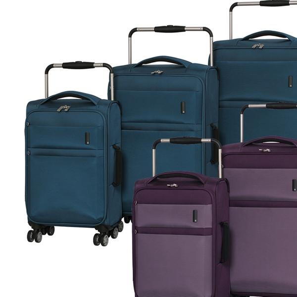 b0effa089 itluggage Debonair World's Lightest 8-Wheel Spinner Luggage Set (3-Piece)