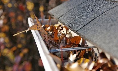 <strong>Gutter Cleaning</strong> for a One- or Two-Story Home from Amy's Janitorial Supply (Up to 50% Off)