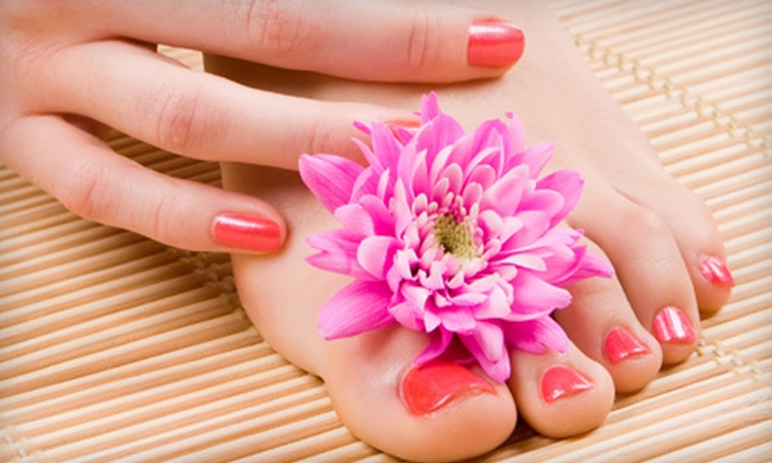 Beyond Nails - Detroit: Shellac Manicure with Regular Pedicure, One or Three Shellac Manicures, or Facial at Beyond Nails in Livonia (Up to 57% Off)