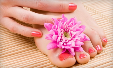 Mani-Pedi Package (an $80 total value) - Beyond Nails in Livonia