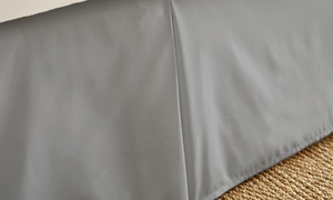 Merit Linens Pleated Bed Skirt Dust Ruffle