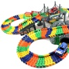 Pleasant Journey Toy Track Playset with Two Cars (234-Pieces)