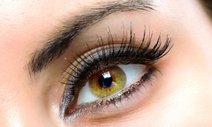Beyond Skin Care,LLC: Full Set of Mink or Sable Eyelash Extensions with Optional Refill at Beyond Skin Care (53% Off)