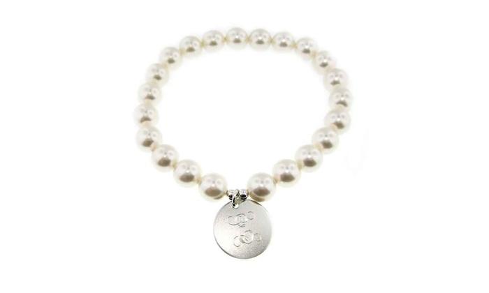 Personalized Swarovski Crystal Pearl Bracelets From Jc Jewelry Design