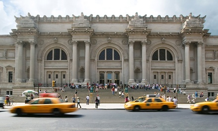 $18 for Skip the Line Admission for One to The Metropolitan Museum of Art (Up to $25 Value)