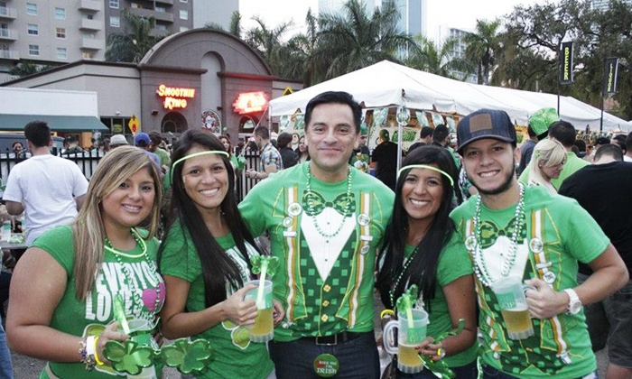 Brickell Fest St. Patrick's Day Celebration - Downtown Miami: General or VIP Outing for One or Two to Brickell Fest St. Patrick's Day Celebration on March 17 (Up to 56%Off)