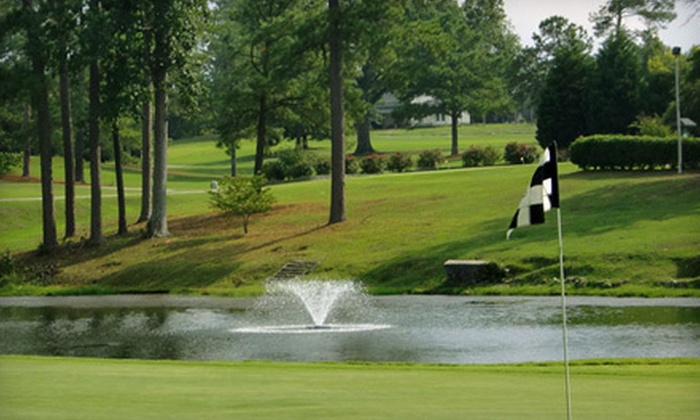 Country Club of Newberry - Newberry: 18 Holes of Golf with Cart Rental and Optional Hot-Dog Meals for Two or Four at Country Club of Newberry (Up to 58% Off)