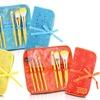 Jacki Design Cosmopolitan Makeup Brush and Bag Set (8-Piece)