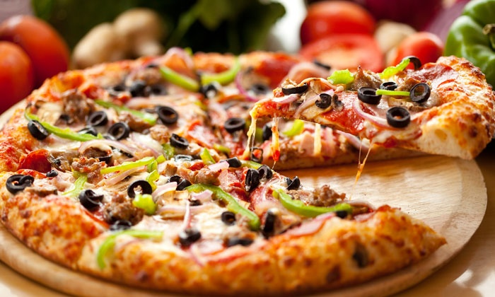 Rosati's - Plainfield: $17 for Two Thin-Crust Cheese Pizzas at Rosati's in Plainfield ($28 Value)