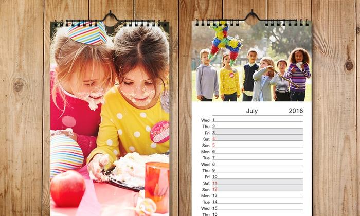 Personalised Kitchen Calendar Groupon Goods