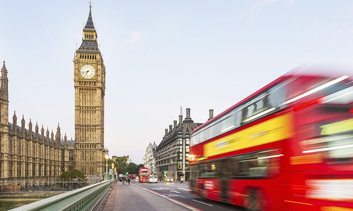 Premium Tours Ltd - London: Open-Top Double-Decker London Bus Tour and Thames Cruise from £14.50 (Up to 52% Off)