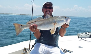 Tightline Fishing Charters: $299 for Four-Hour Private Fishing Trip for Up to Four from Tightline Fishing Charters ($475 Value)