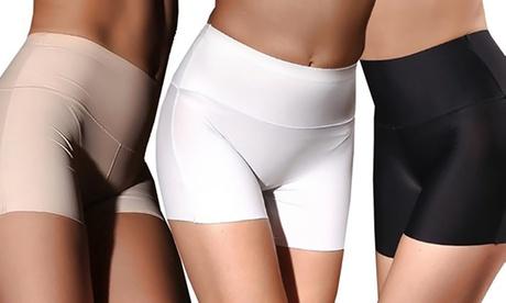 1, 2 o 3 pantalones cortos moldeadores sin costuras