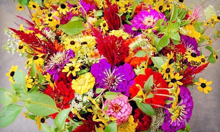 The Gardener's Workshop - Multiple Locations: $10 for $20 Worth of Freshly Cut Flowers at The Gardener's Workshop