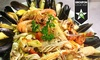 Donna Margherita - London: Six-Course Italian Seafood Meal For Two or Four from £43 at Donna Margherita (53% Off)