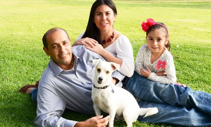 Michael Bohenek Photography - Sacramento: $28 for In-Home or Outdoor Family Photo-Shoot from Michael Bohenek Photography ($195 Value)
