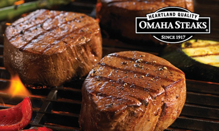 Omaha Steaks : Gourmet Meat Package with Included Shipping from Omaha Steaks (Up to 62% Off). Three Options Available.