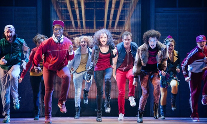"""""""Flashdance: The Musical"""" - James K. Polk Theater at Tennessee Performing Arts Center: $37 to See """"Flashdance: The Musical"""" at Tennessee Performing Arts Center on March 19, 20, 21, or 22 (Up to $58 Value)"""