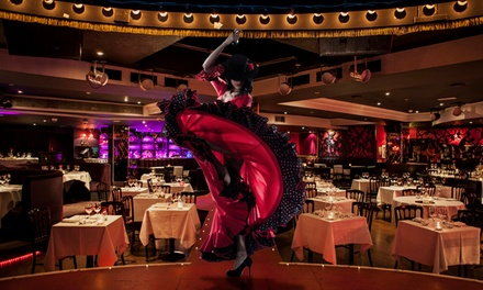 Cabaret Show Entry with a Three-Course Dinner and Glass of Prosecco at Proud Cabaret City (Up to 57% Off)