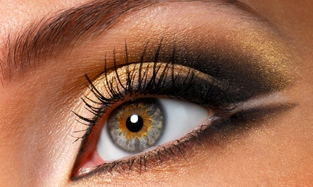 Eyelash Extensions with Option of Re-Lash at Makeup by Sharon Kaye at Mitazi Salon (Up to 70% Off)