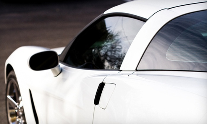Divine Auto Salon - Hosford - Abernethy: Tinting for Two or Up to Five Car Windows at Divine Auto Salon (Half Off)