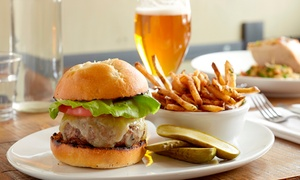 The Hungry Duck: Burger and Beer for Two or Four at The Hungry Duck (54% Off)