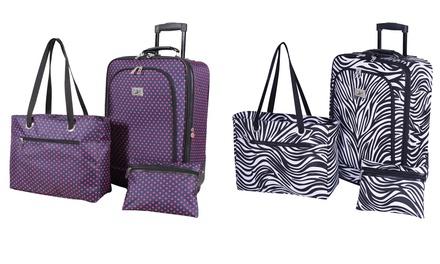 Verdi Carry-On Luggage Travel Set (3-Piece)