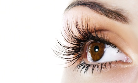 Full Set of Eyelash Extensions at Lovely Lash (55% Off)