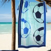 """2-Pack of 30""""x60"""" Game Day Beach Towels"""