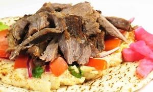Middle Eastern Cuisine for Dine-in or Carry-Out at Naji's Pita Gourmet (57% Off)