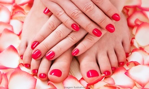 Mabotse Nail Bar: Manicure or Pedicure with Gelish Overlays and Paraffin Wax from R196 at Mabotse Nail Bar (Up to 70% Off)
