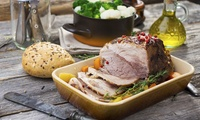 Two-Course Roast Dinner with Sides for Two or Four at Famille Hotel (Up to 42% Off)