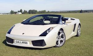 Experience Limits: Lamborghini Gallardo Driving Experience: Three or Six Laps at Experience Limits