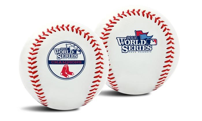 Boston Red Sox 2013 MLB World Series Champion Baseball: Boston Red Sox 2013 MLB World Series Champion Baseball. Free Returns.