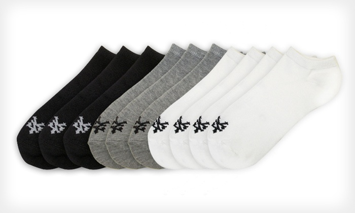 10 Pairs of Zoo York Women's Socks: $11.99 for 10 Pairs of Zoo York Women's No-Show Socks in Black, White, or Assorted Colors ($28 List Price)