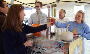 Delaware Wine and Beer Festival 2015: Delaware Wine and Beer Festival 2015 on Saturday, October 17 (Up to 56% Off)