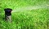 Outdoor Specialties: $32 for Sprinkler-System Activation for Up to Nine Sprinkler Zones from Outdoor Specialties ($65 Value)