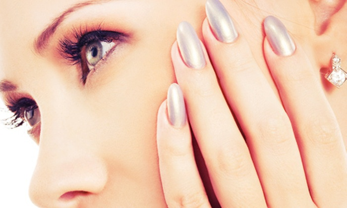 Clayton Spa and Salon - Cherry Creek: OPI Axxium Gel Manicure or Two Spa Manicures with Massage and Paraffin Wax at Clayton Salon and Spa (Up to 51% Off)