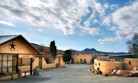 Adobe-Style Inn in Texas's Big Bend Region