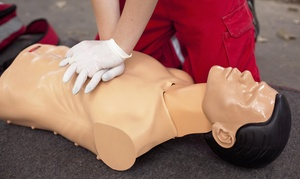 CPR Cindy: $30 for $70 Worth of BLS, CPR AED, or First-Aid AED  at CPR Cindy