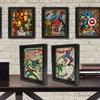 Marvel Comics Framed 3D Superheroes Posters