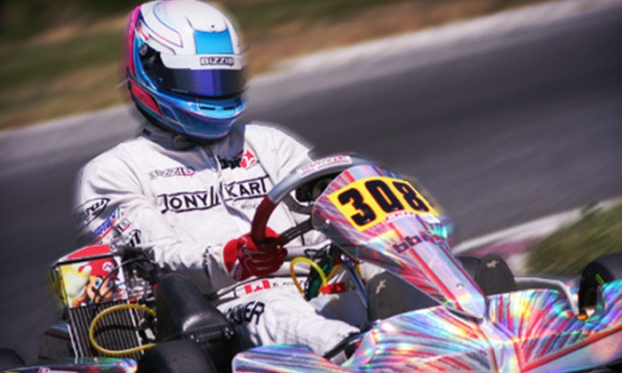 Top Gun Karting School - Brookswood/Fernridge: Introductory 60-Minute Super Sprint or Half-Day Kart-Racing Course at Top Gun Karting School (Up to 57% Off)