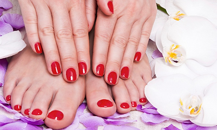 Nails By Hollie @ Salon Retro - Spokane Valley: $25 for $50 Worth of Services at Nails By Hollie @ Salon Retro