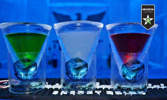 ICE CLUB - Rione Monti: Ingresso per 2 persone da Ice Club con 2 cocktail a testa al Rione Monti