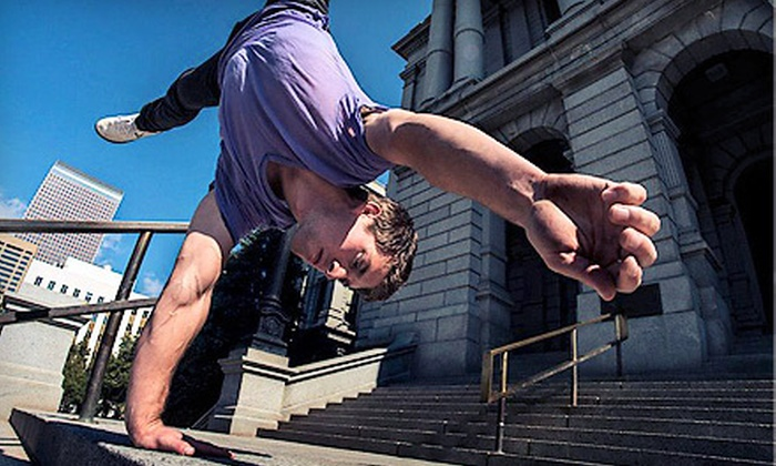 APEX Movement  - Multiple Locations: $22 for Week of Unlimited Level 1 Parkour Classes with Open Gym at APEX Movement ($45 Value)
