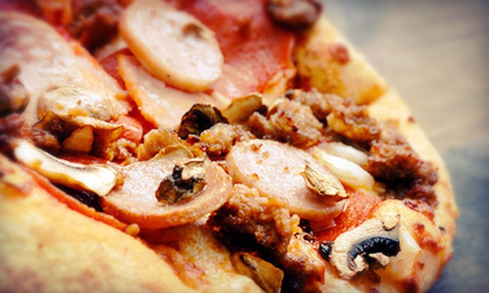 Pizza Man - Pizza Man: $20 for $40 Worth of Italian Food at Pizza Man