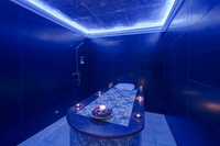 Moroccan Bath with an Optional Hot Tub Session, Mani-Pedi, Facial and Body Scrub at The Royal Spa (Up to 69% Off)